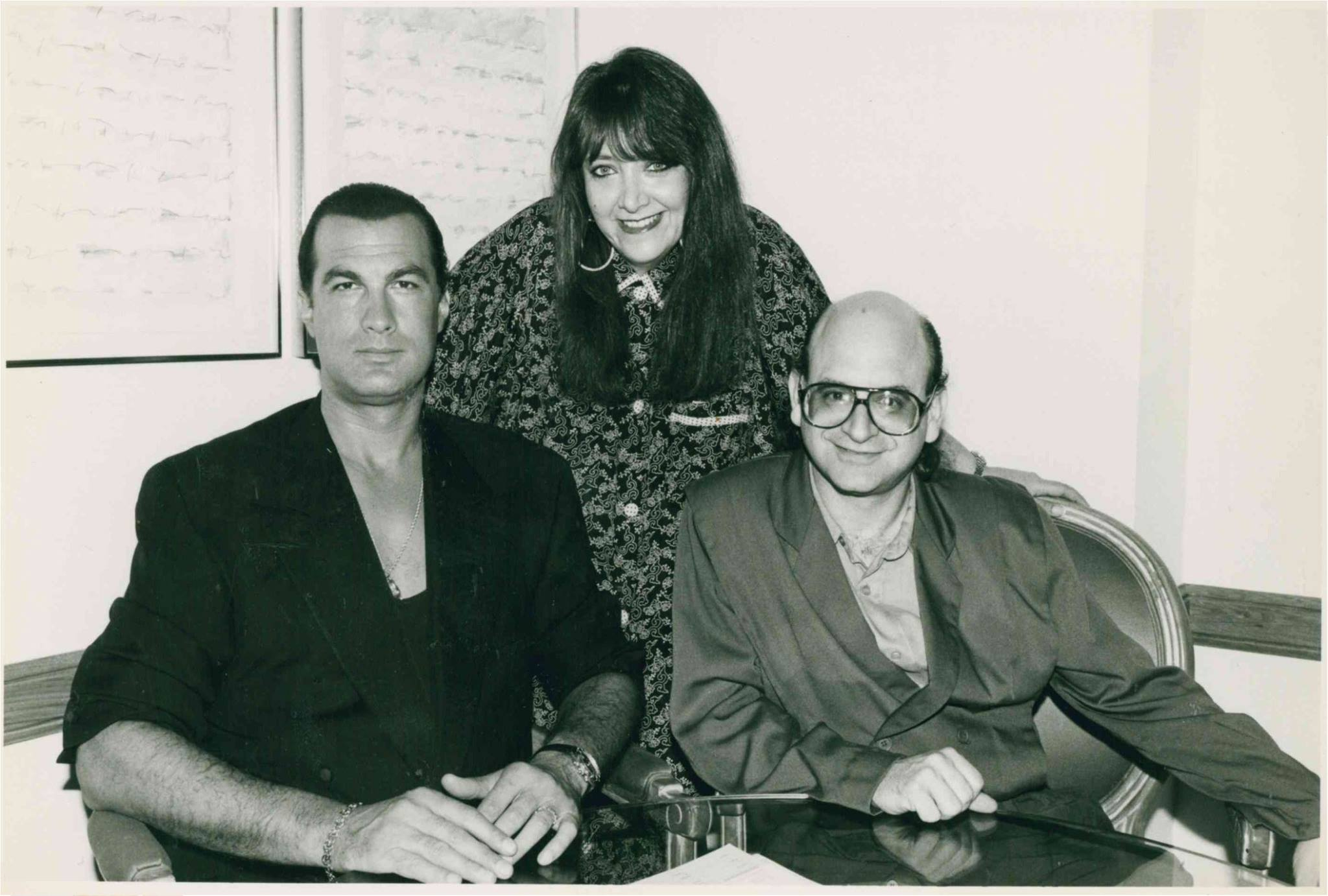 Steven Seagal and Doreen Ringer Ross at BMI