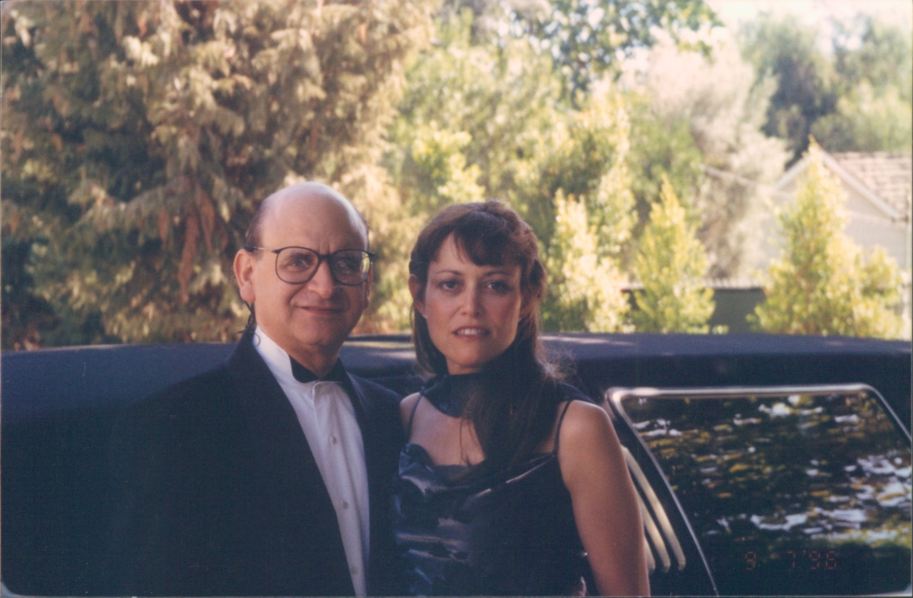 Bonnie & David Frank, 2nd EMMY nomination, 1996