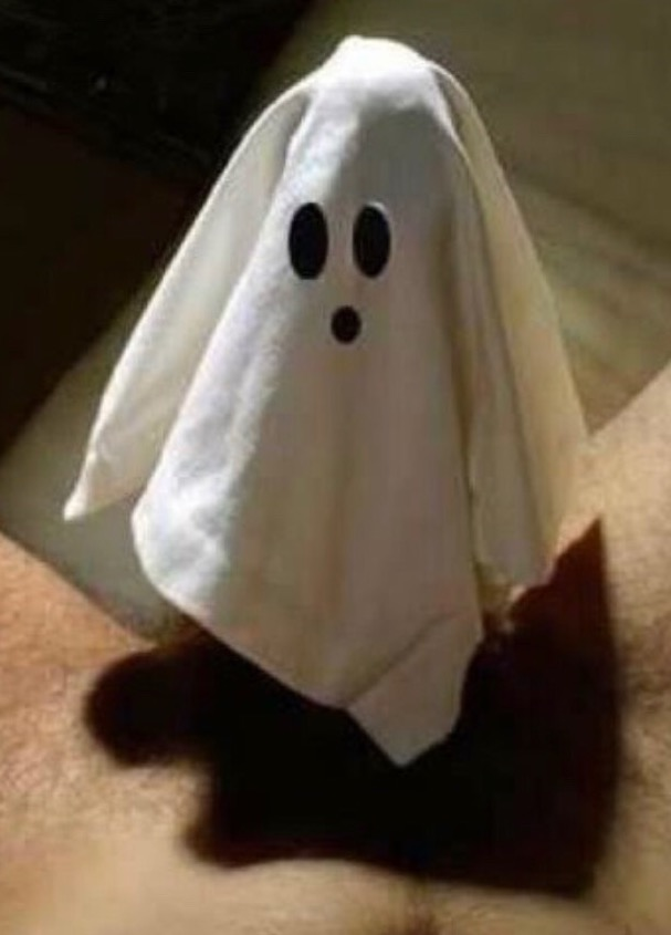 Is this ghosting? Boo!