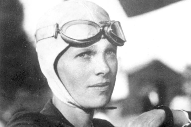 Imagem: Reprodução |Amelia Earhart.