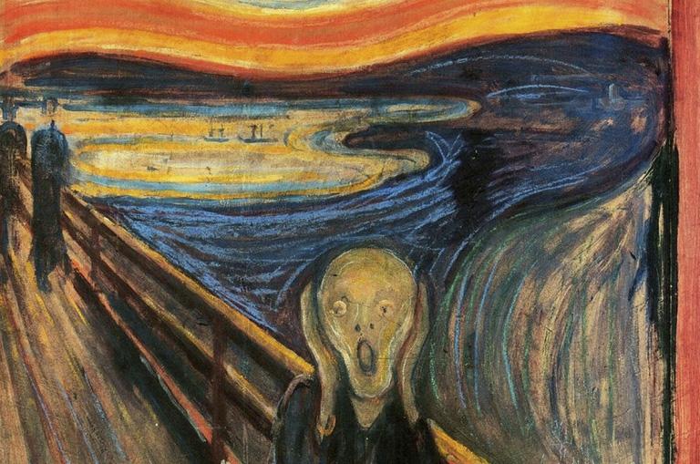 Imagem: Reprodução | Edward Munch - The Scream.