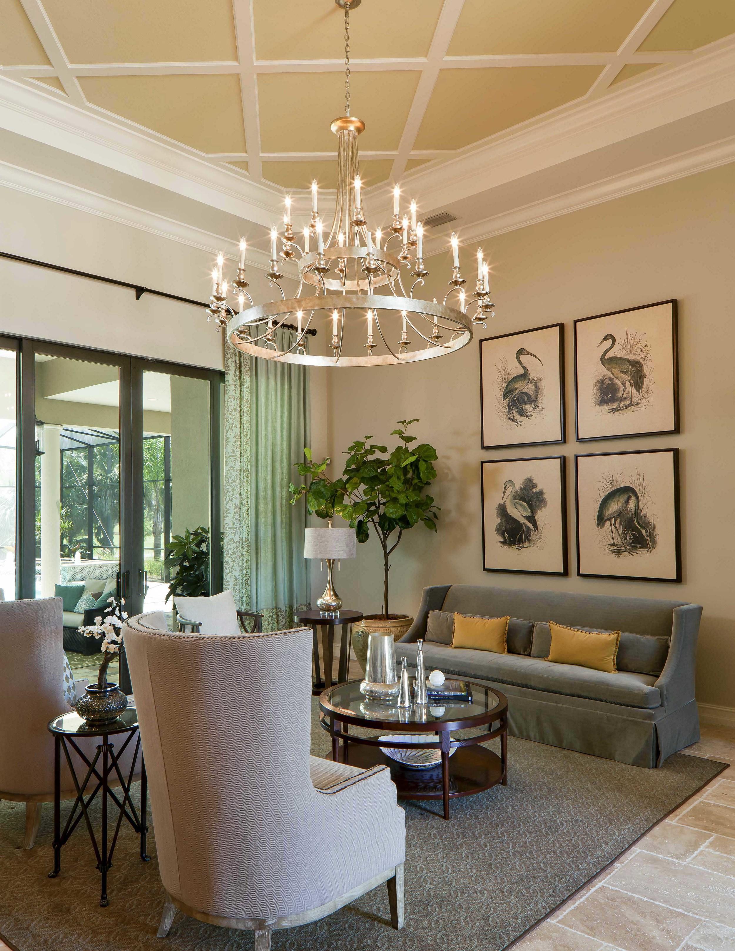 Ponte Vedra Grande Model by Beasley & Henley Interior Design for Stock Development, Lely Resort Naples, FL