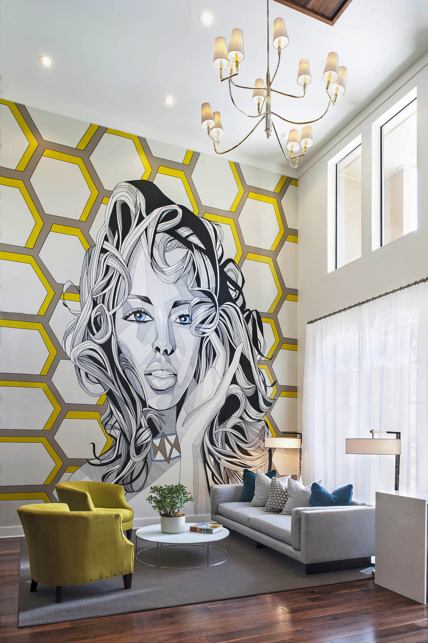 Images can jump right off the wall - Some of the decorative artists we commission are motivated by pop culture, have intense personalities, and gain the attention of our most amazing clients. The images can jump right off the wall or canvas with dreamlike proportion.