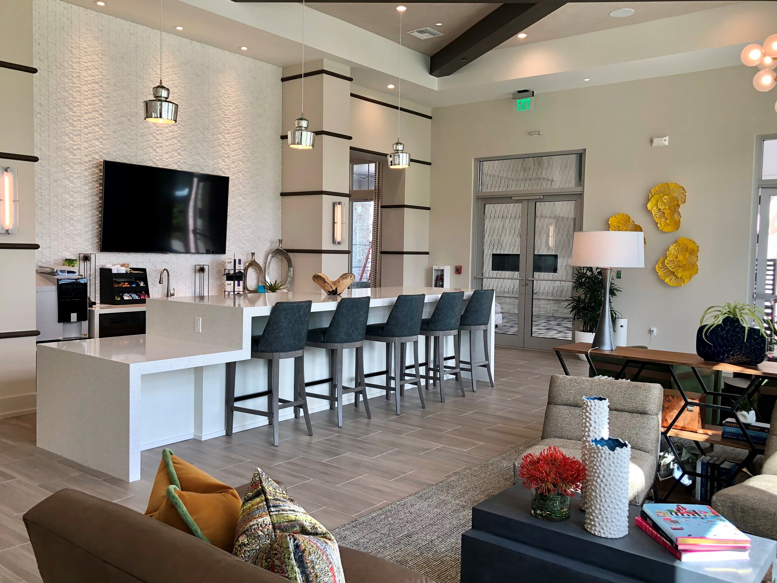 Palmore Amenities That Celebrate The Quintessential Florida Lifestyle Interior Design Winter Park Orlando Naples Beasley Henley
