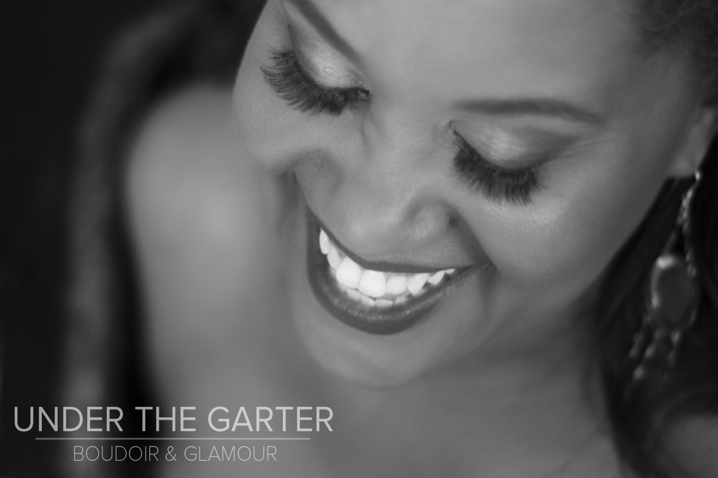 {Carla} stuns in a moment of laughter