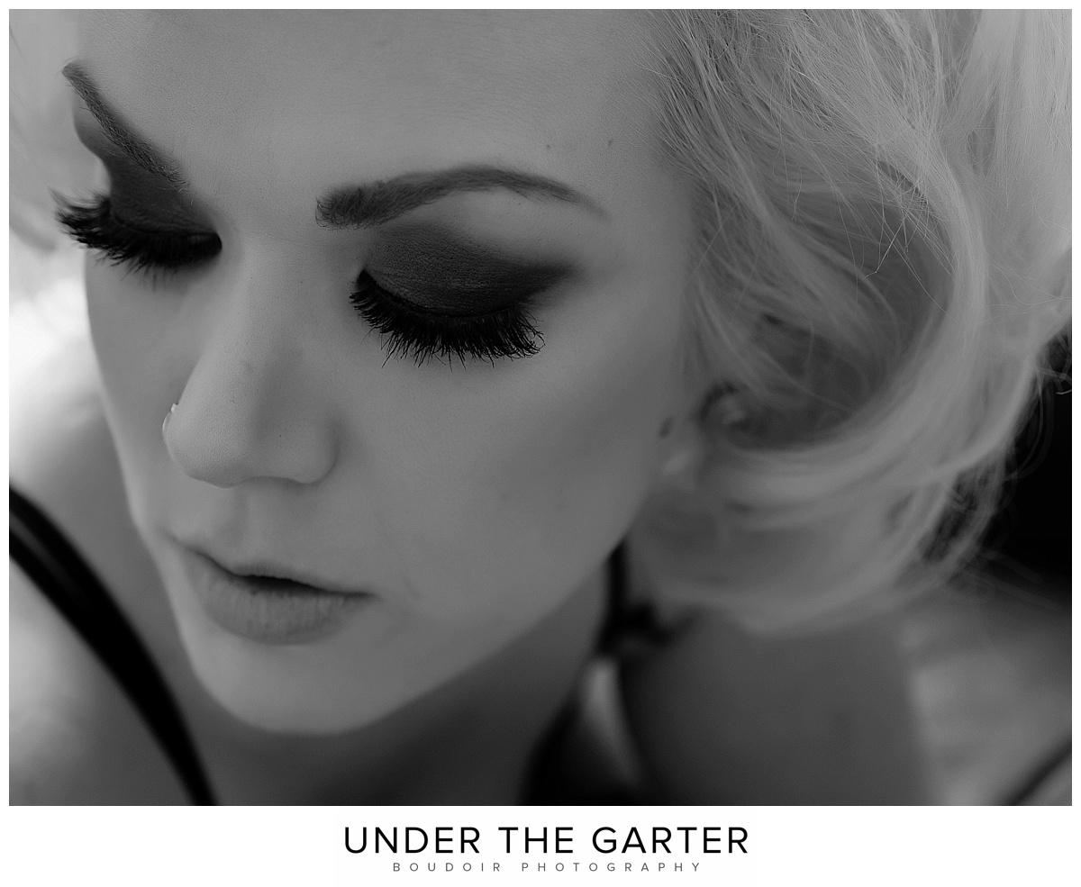 boudoir photography denver smoky eyes bw marilyn monroe.jpg
