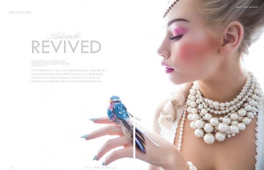 Boudoir-Photo-Denver-Marie-Antoinette-and-Bird