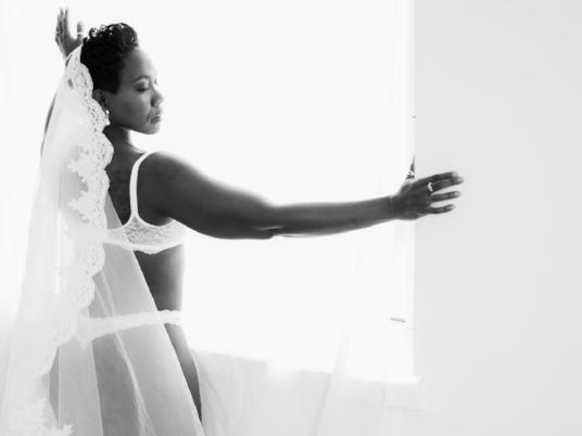 Bridal-Boudoir-Photo-Denver-Woman-Cathedral-Veil-White-Lingerie-at-Window