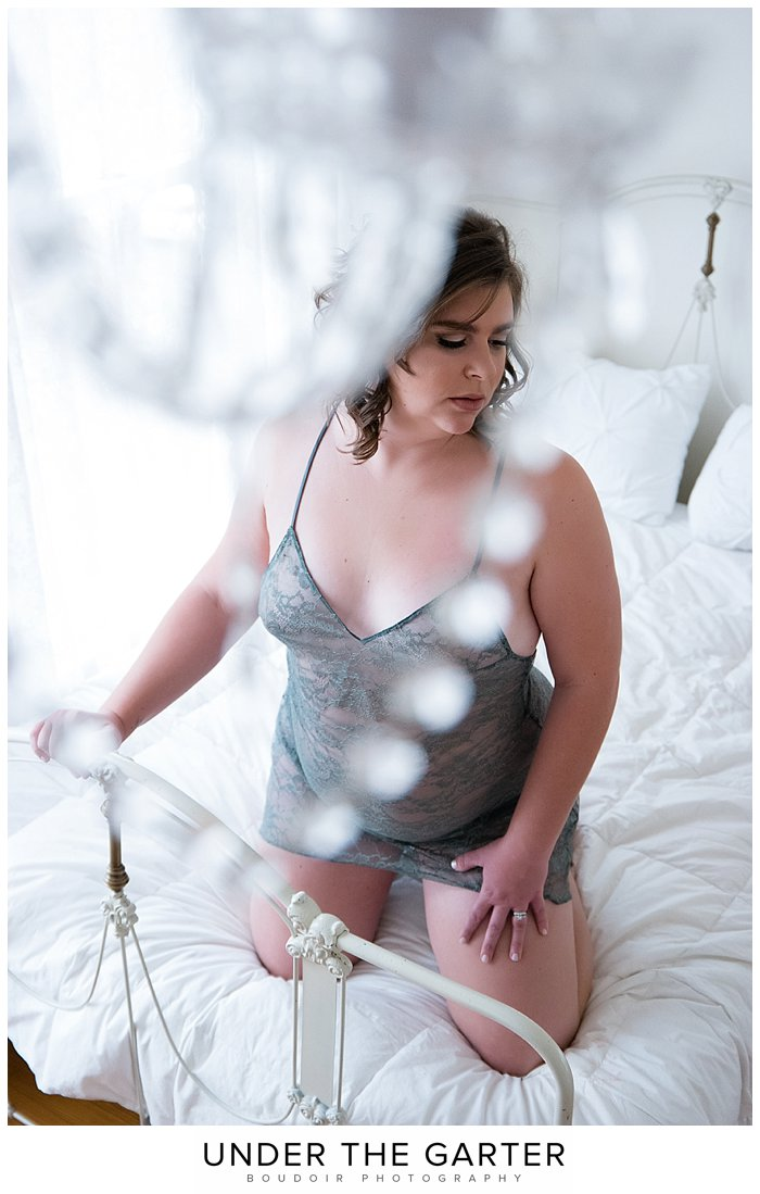boudoir photography denver sage green chandelier.jpg