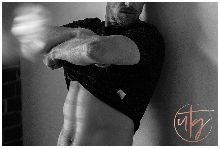 male boudoir photography denver removing shirt.jpg