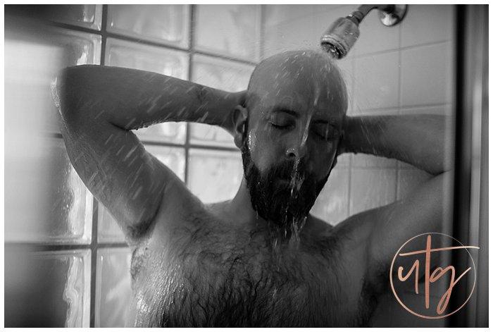 male boudoir photography denver dudoir shower water.jpg