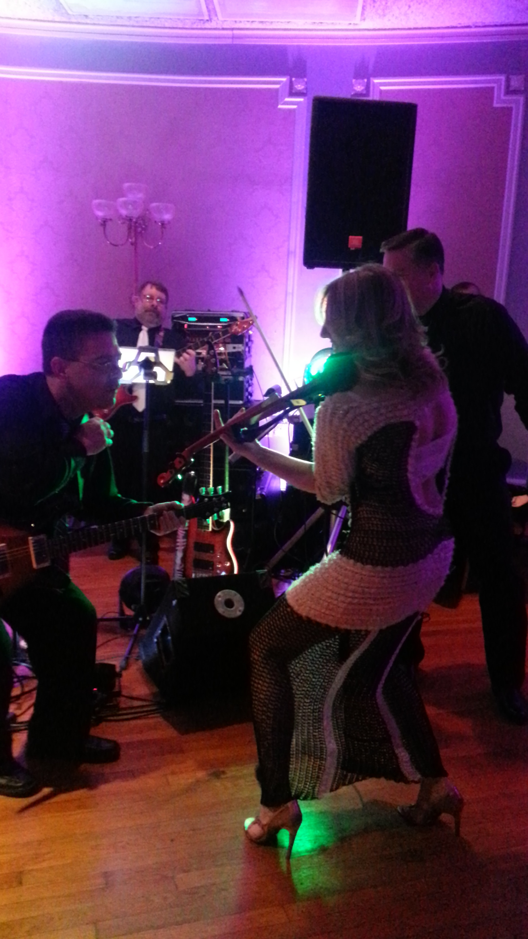 Jamming with the fabulous band by Sam Cooperman