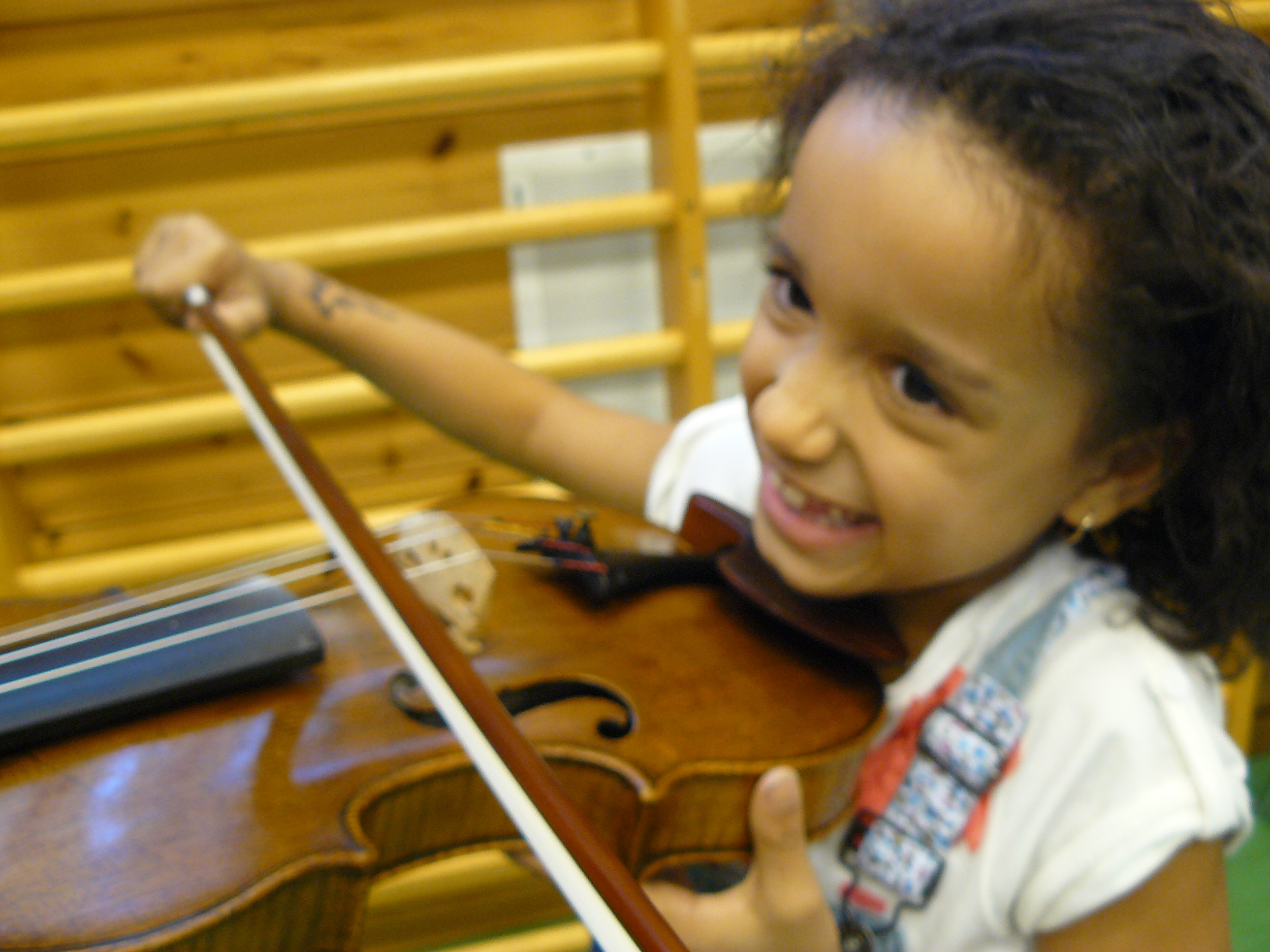 And maybe some new young violinists...