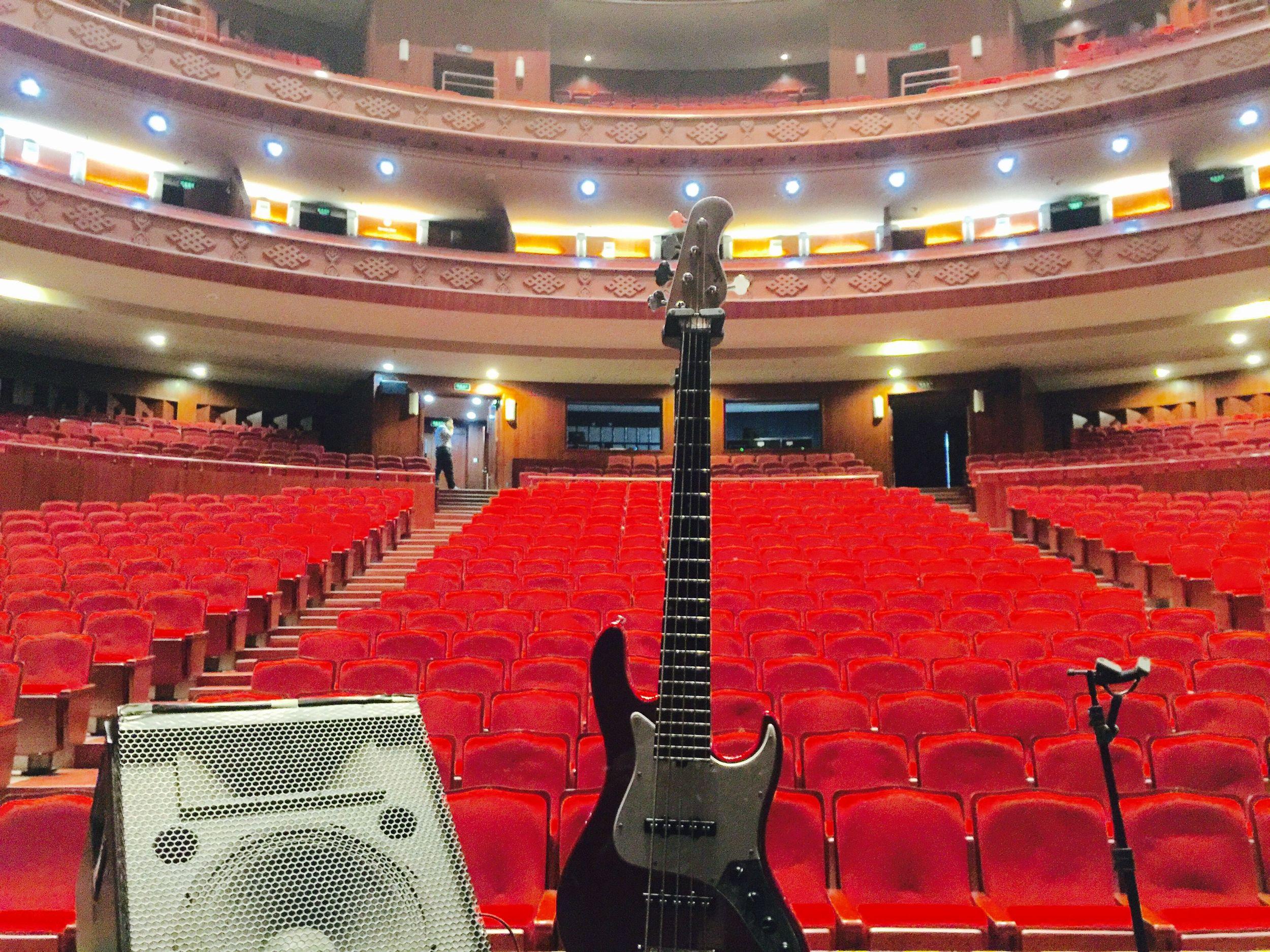 Beautiful concert halls every night