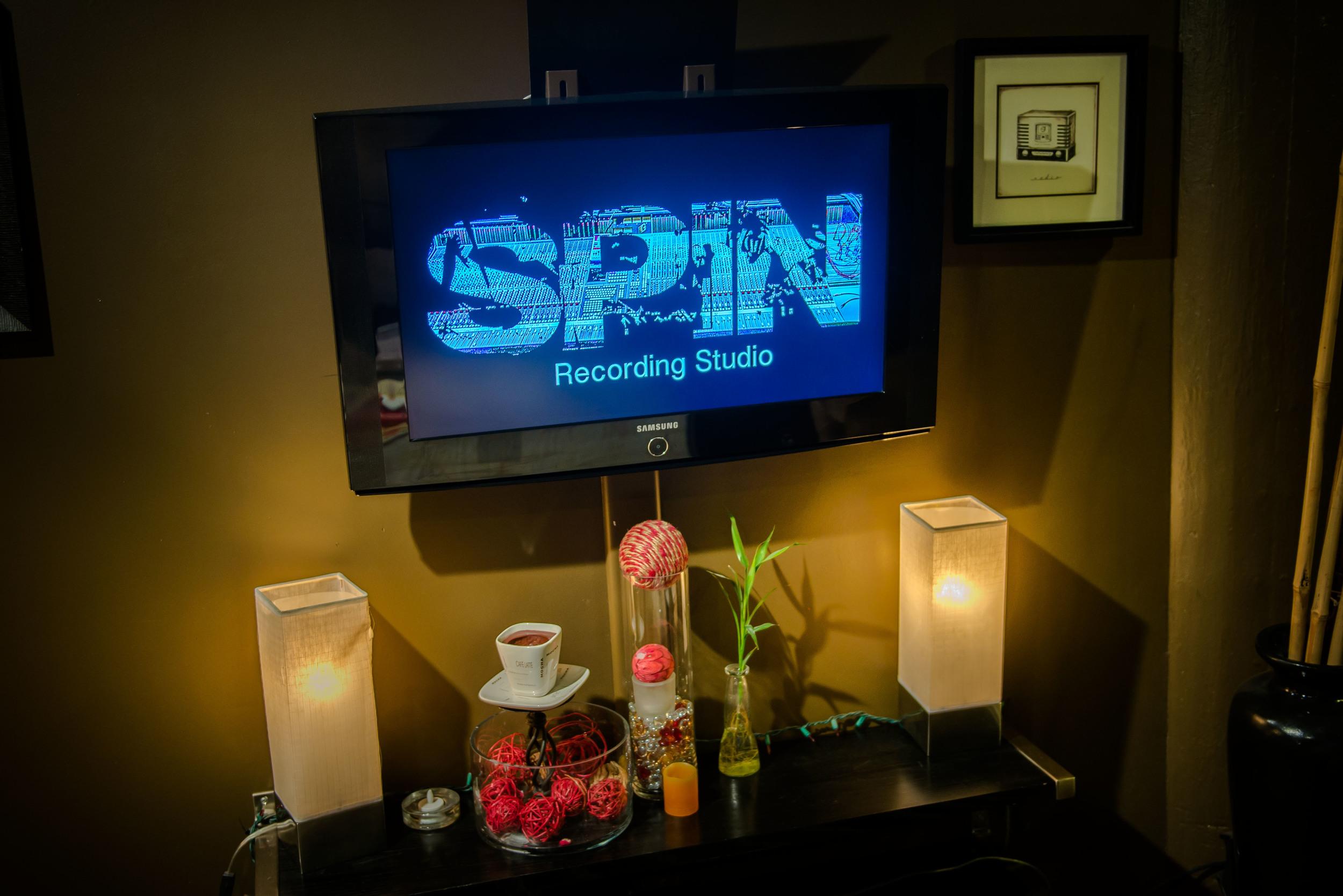 At SPIN Studios NY