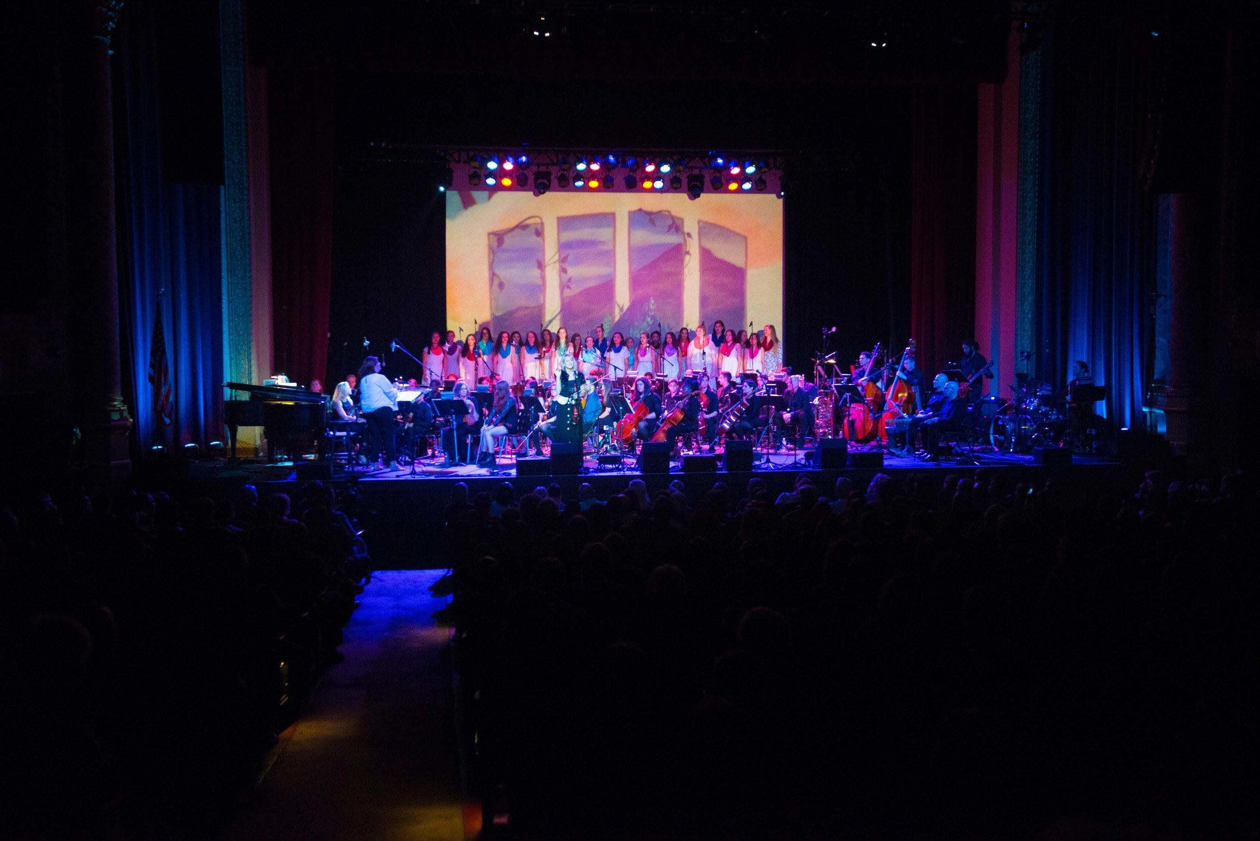 Featuring Erica Denler and her incredible Hendrick Hudson High School Treble Makers Choir