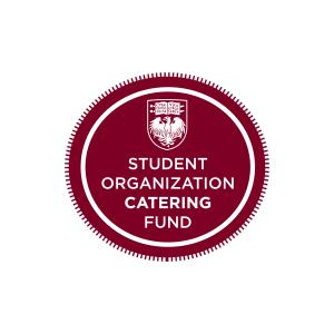 Lunch provided bythe   Student Organization Catering Fund  .