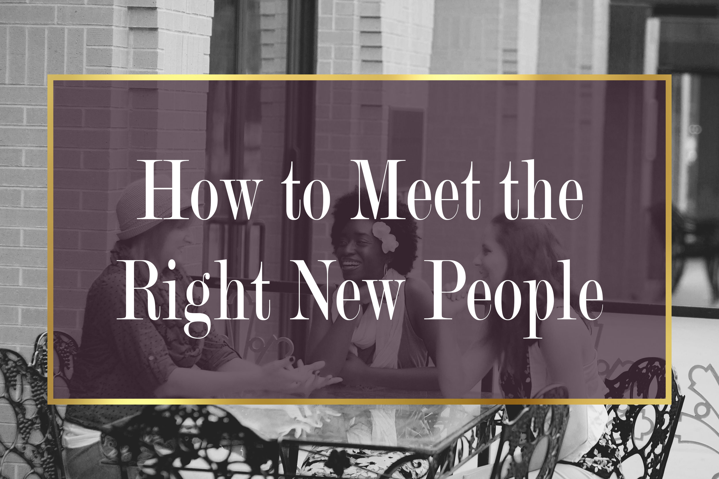 How to Meet the Perfect New People For You   Shreveport, La   BAFB   Bossier City