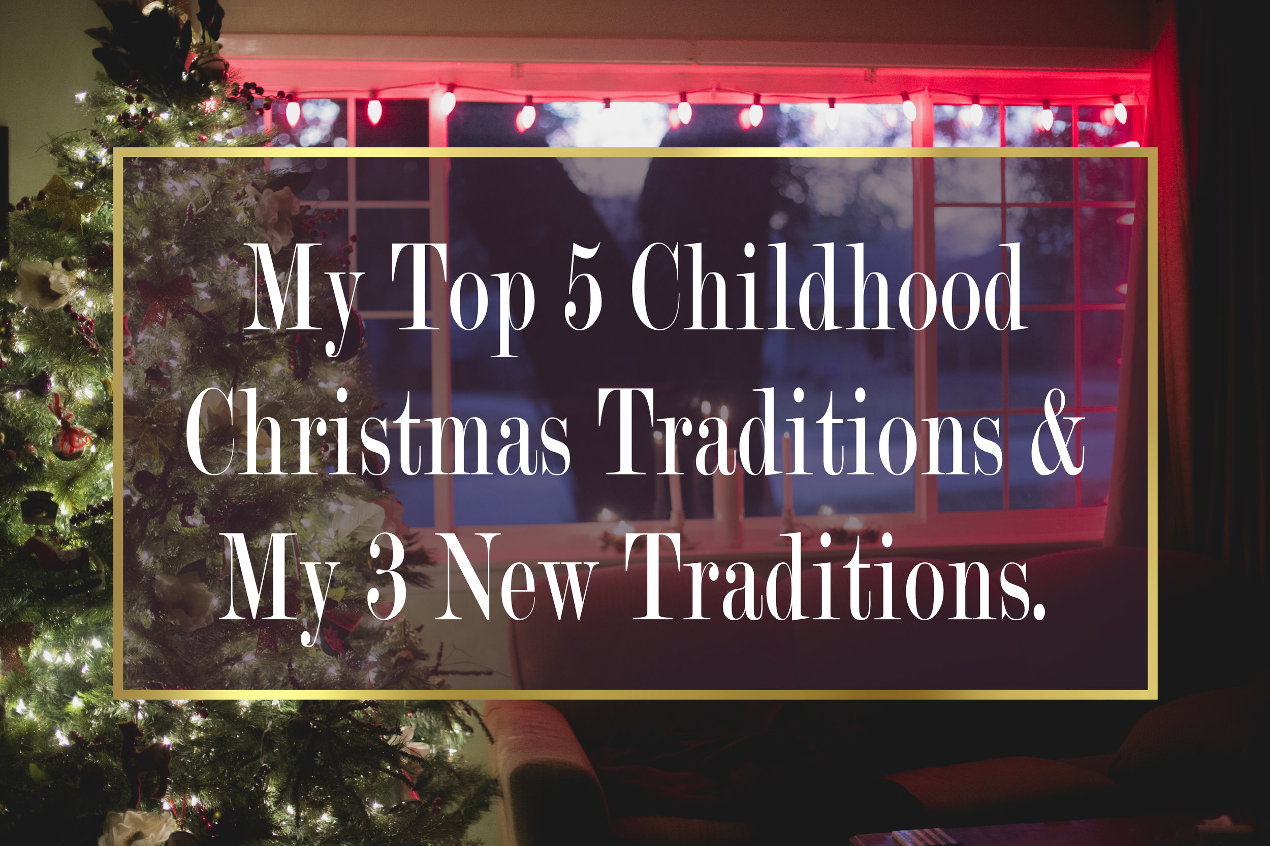 Magnolia Grace Photography | Shreveport Boudoir, Beauty, & Wedding Photographer | Bossier Boudoir, Beauty, & Wedding Photographer | My Top 5 Childhood Christmas Traditions & My 3 New Traditions.