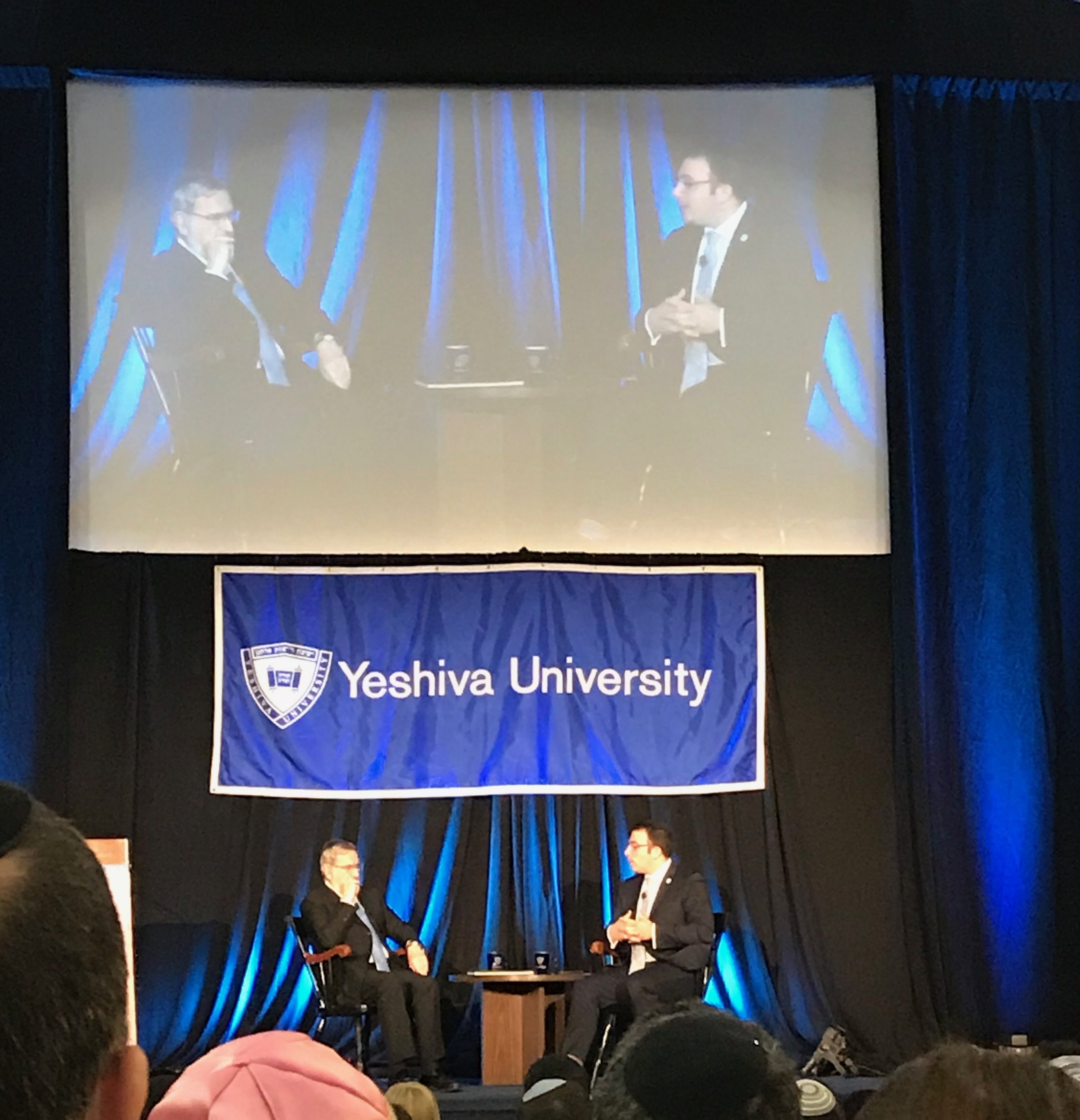 Rabbi Lord Jonathan Sacks, interviewed by Rabbi Dr. Ari Berman, President of Yeshiva University on Sunday, October 22nd, 2017.