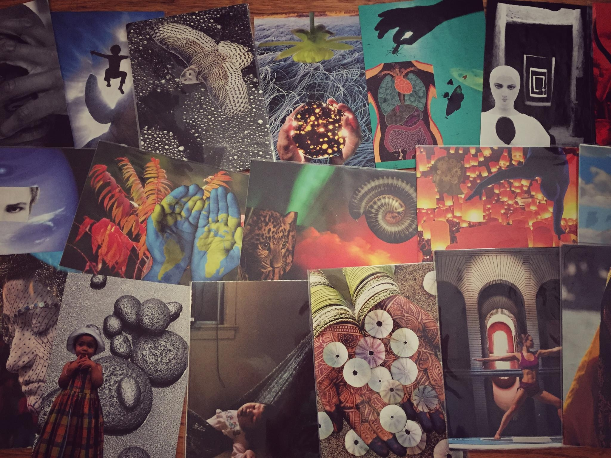 SoulCollage cards
