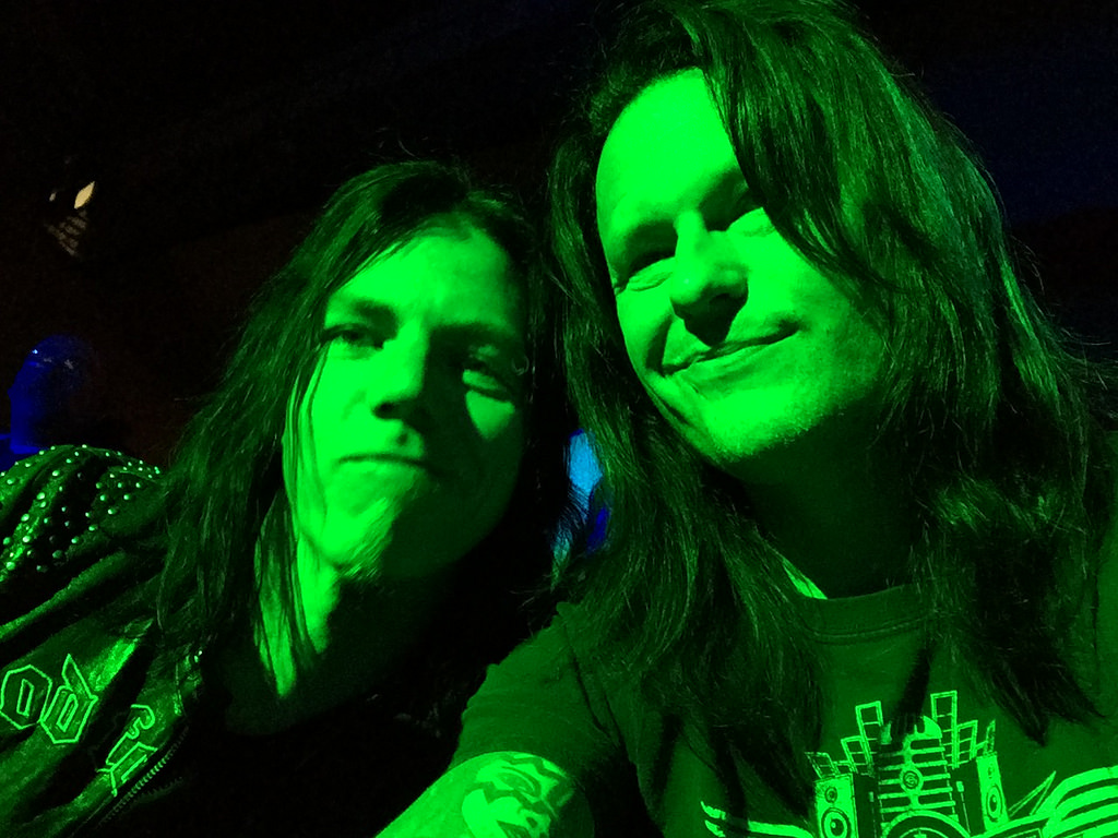 With Perry at Randy Rhoads Remembered