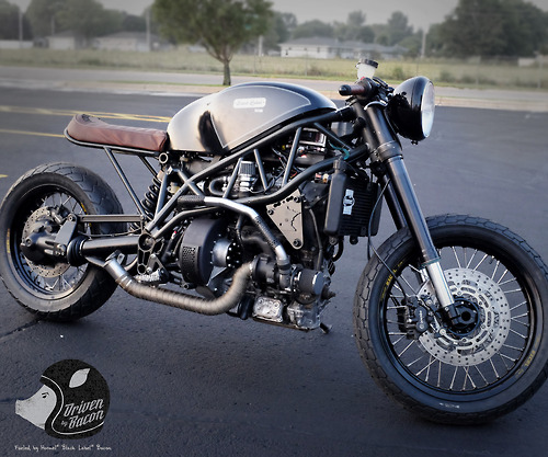 Meet the World's First Bacon Powered Motorcycle