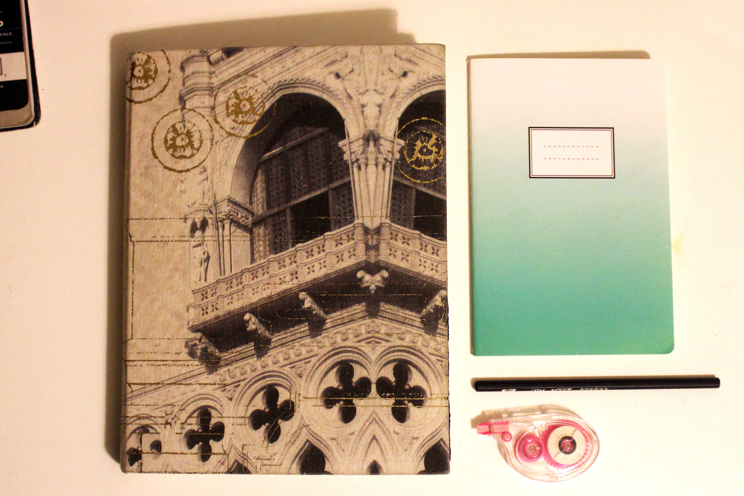 Sold out, but I also love these pretty travel notebook by Christian Lacroix:  Paris  //  New York  //  Rio de Janiero