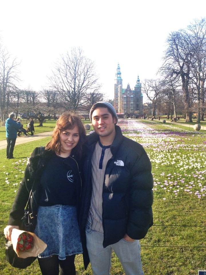 Jake and I in Copenhagen in March 2014. He visited me while I was studying abroad :)