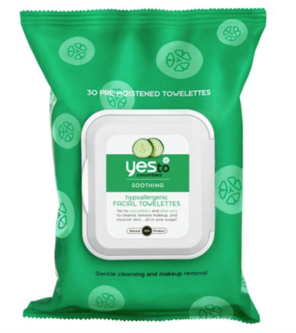 Yes To Cucumber Wipes