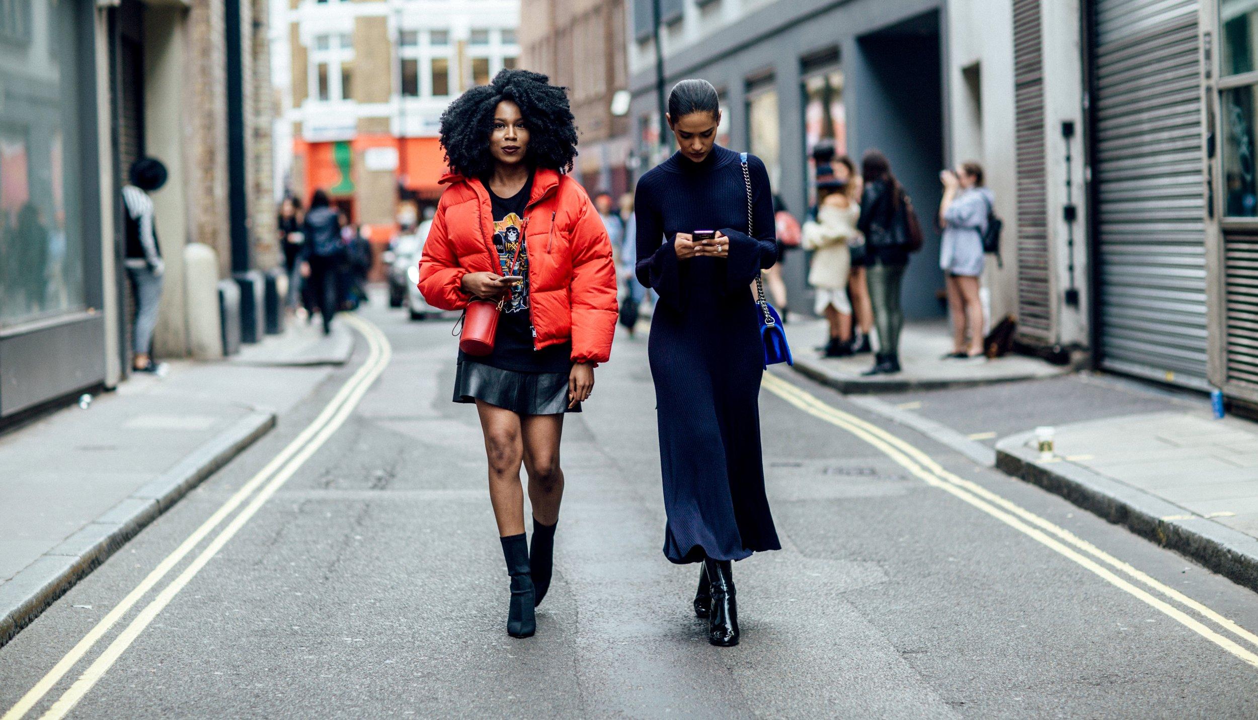 London Fashion Week Streetsyle