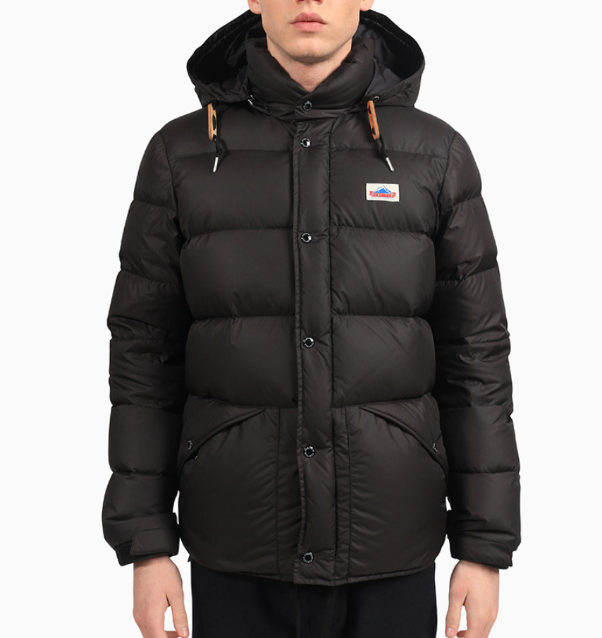 Bower bridge Down Insulated Hooded Jacket