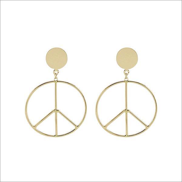 The Big Big Peace Earrings