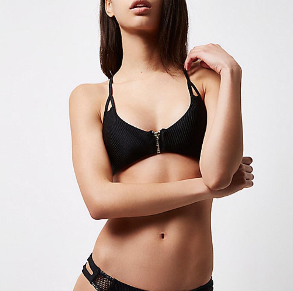 Black Racer Cami Bikini