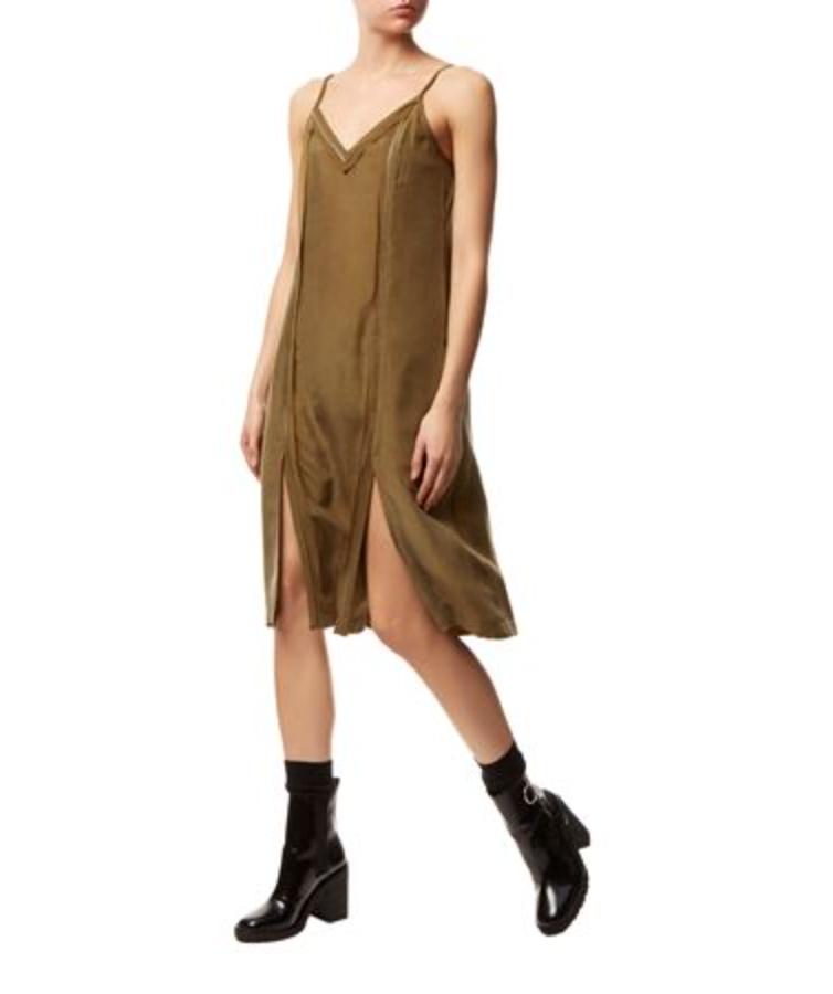 All Saints Perry Silk Dress