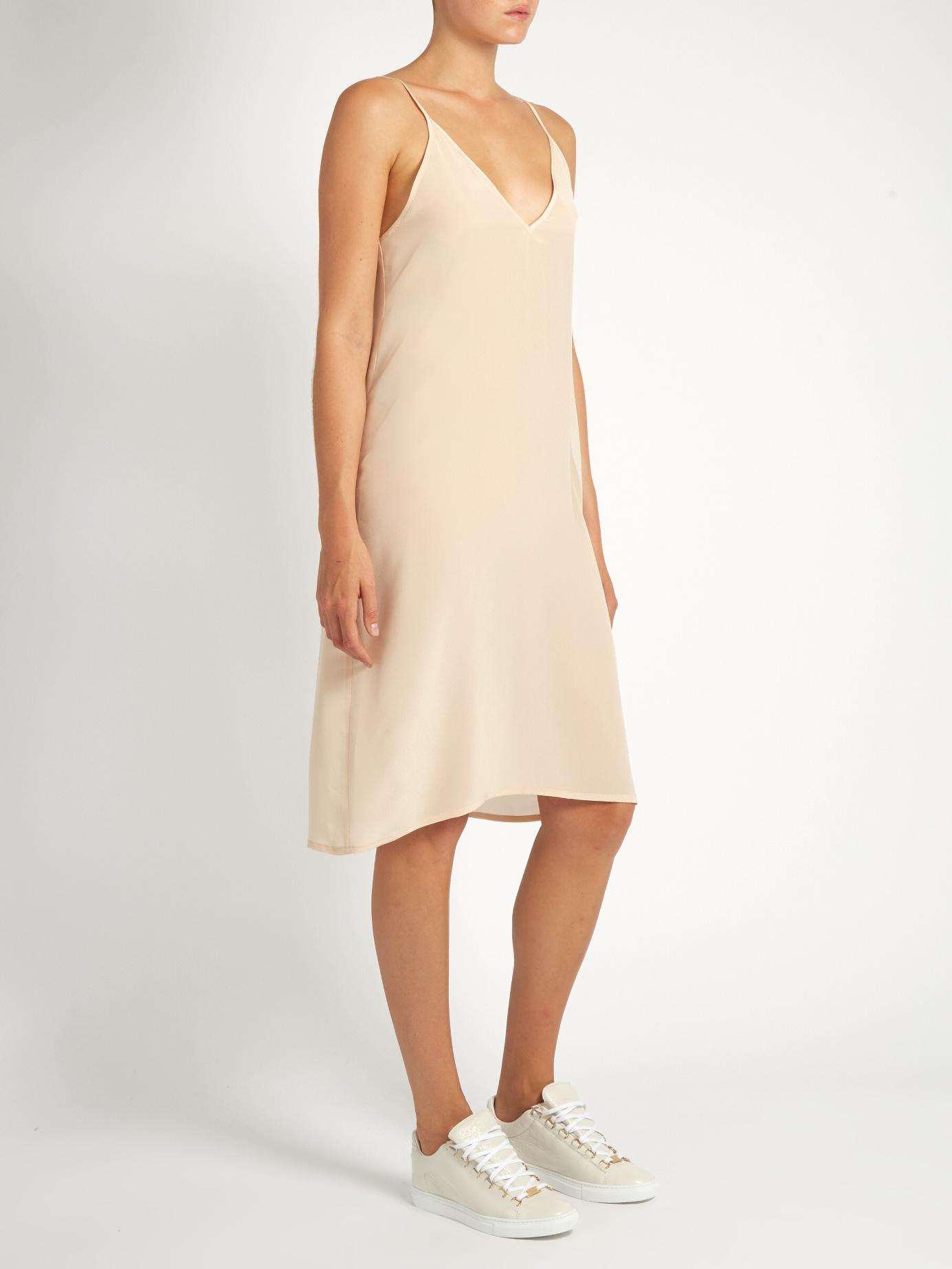 Raey Silk Slip Dress