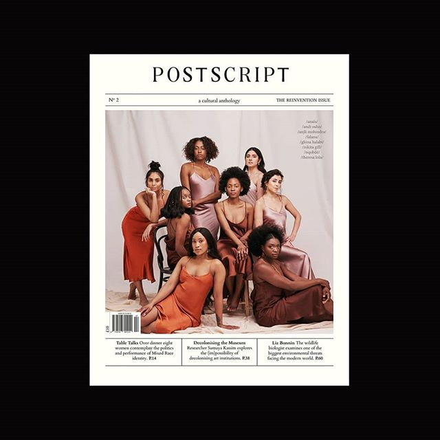 Thrilled to announce the release of the second issue of @postscript.london and so honoured to feature this group of strong, inspiring women on our cover. Shot by @d_kakembo #TheReinventionIssue available to order online now. Link in bio