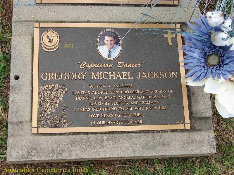 BCSC 65.5 - The Krissy in the Stink City - Gregory Michael Jacksons Grave.jpg