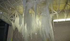 Frozen sprinkler head