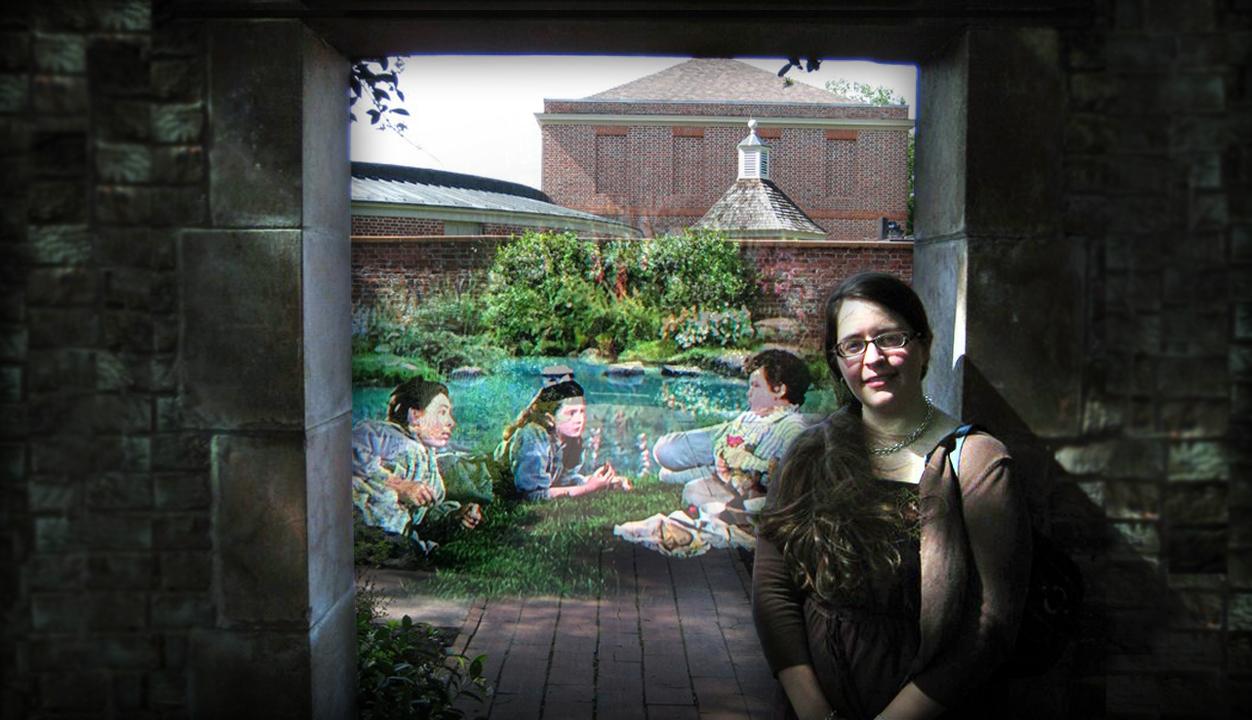 "#LetsMovieSelfie for ""The Secret Garden"""