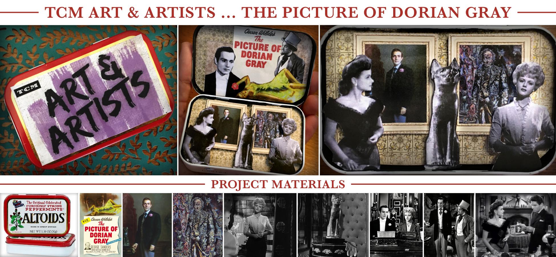 """Mini-diorama for """"The Picture of Dorian Gray"""""""