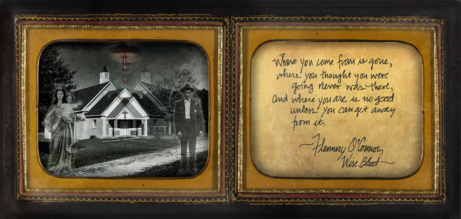 """Southern Gothic Daguerreotype of Flannery O'Connor's """"Wise Blood"""""""