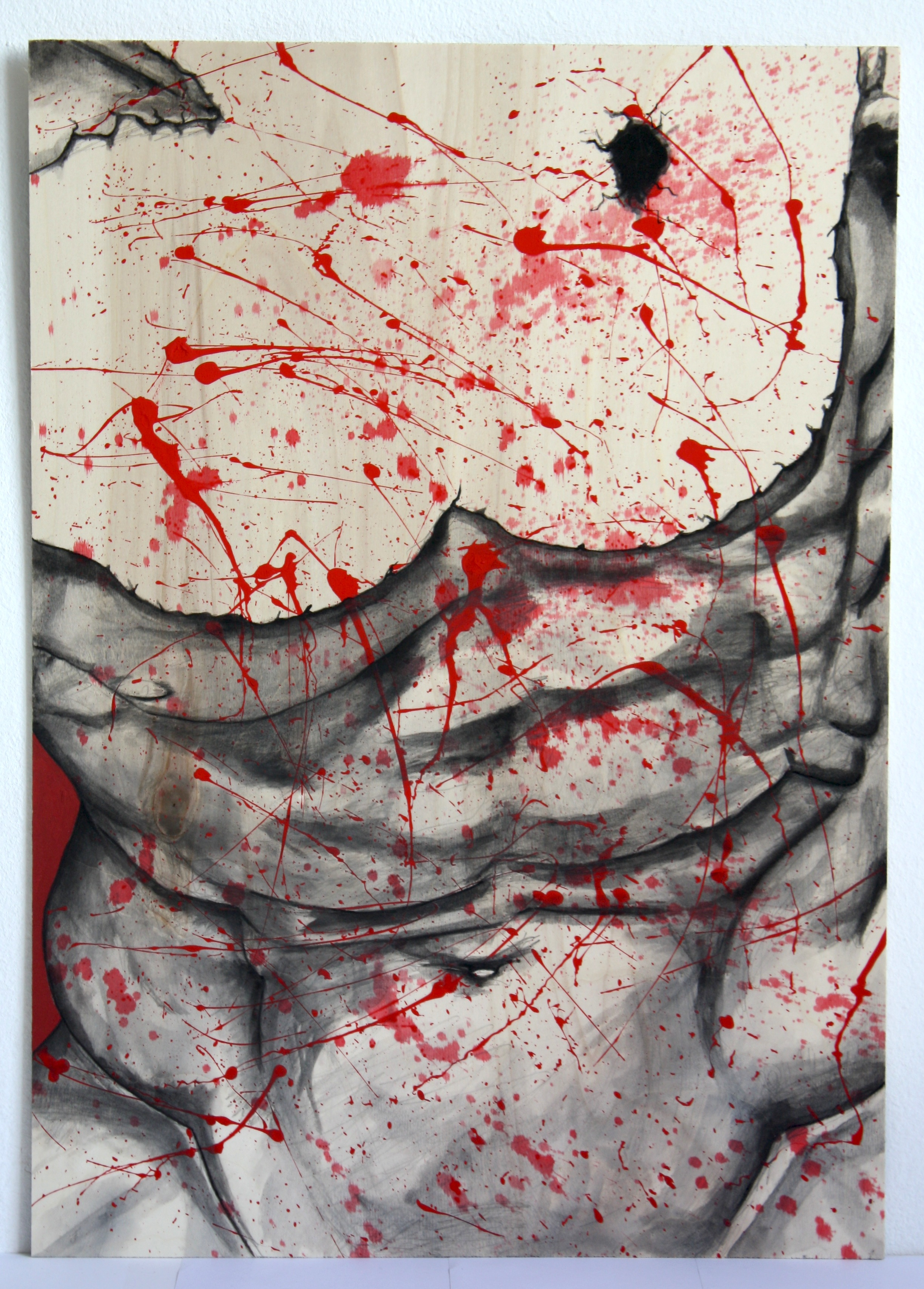 Pollock'd Belvedere Torso