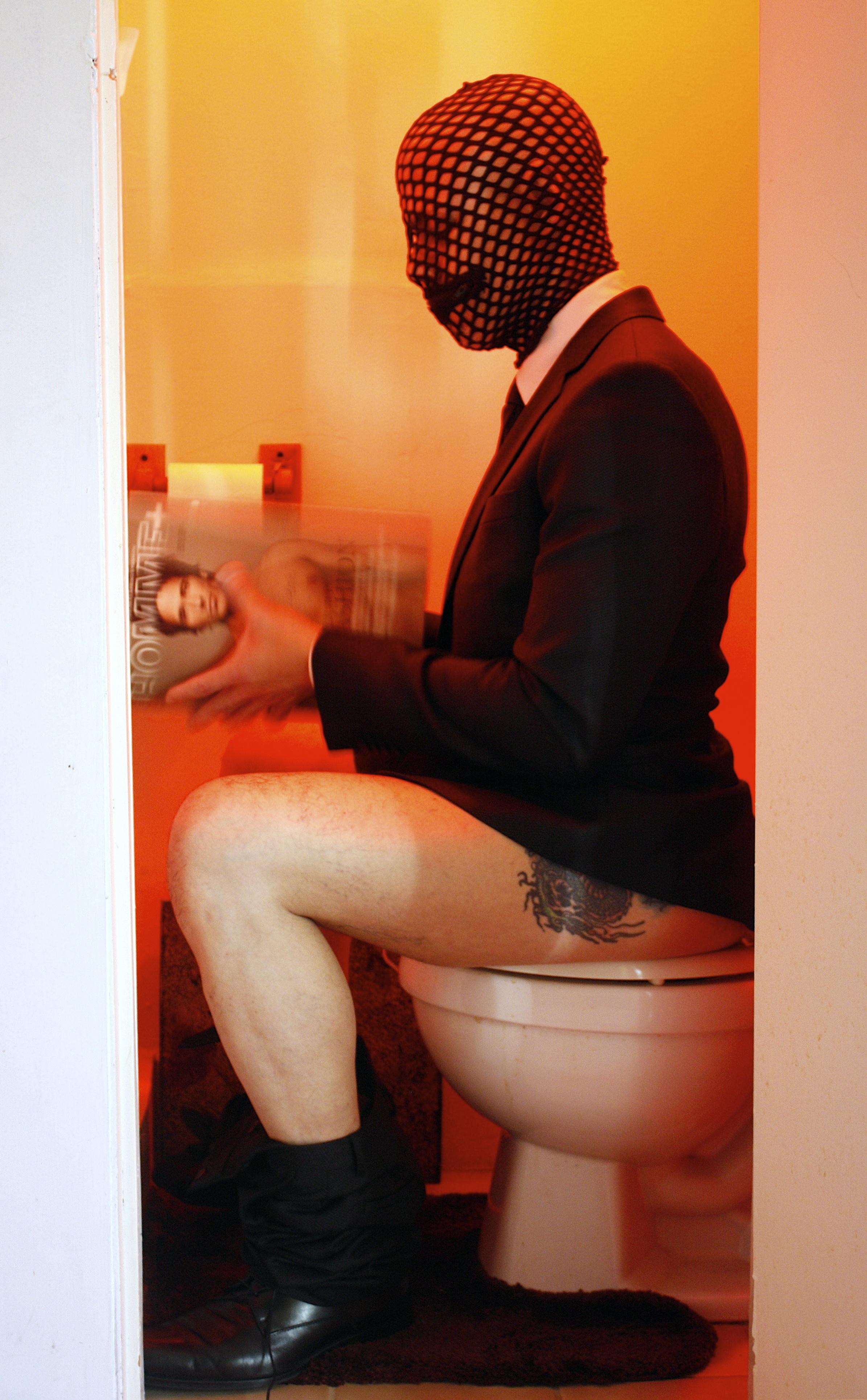 He Uses My Bathroom
