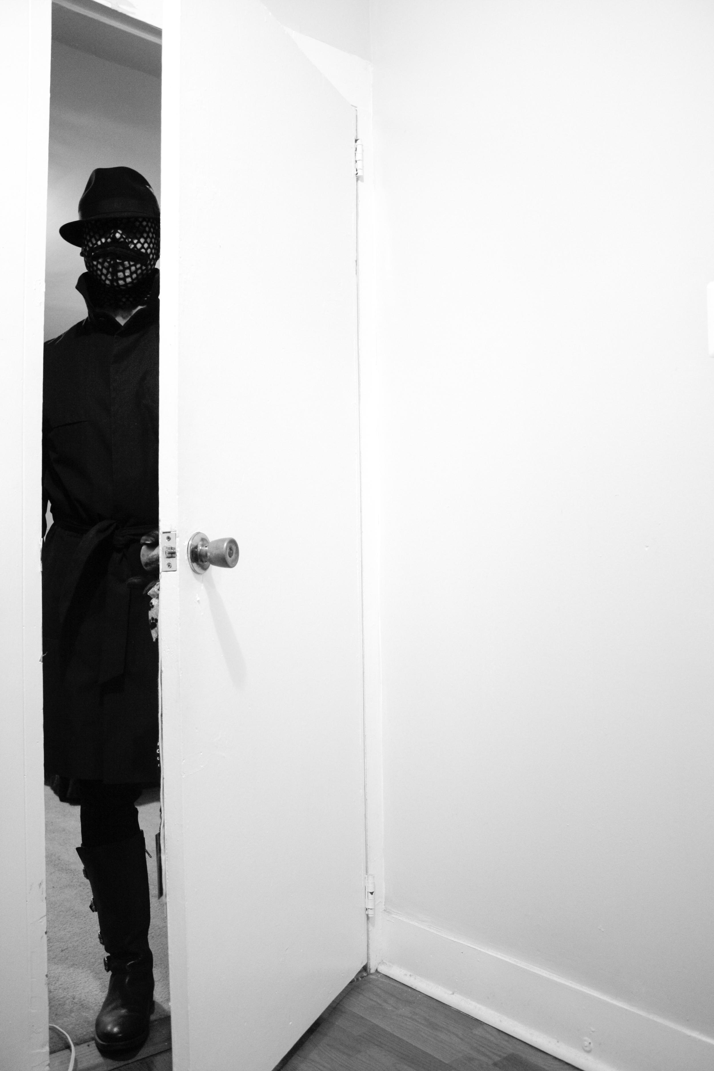He Enters My Room
