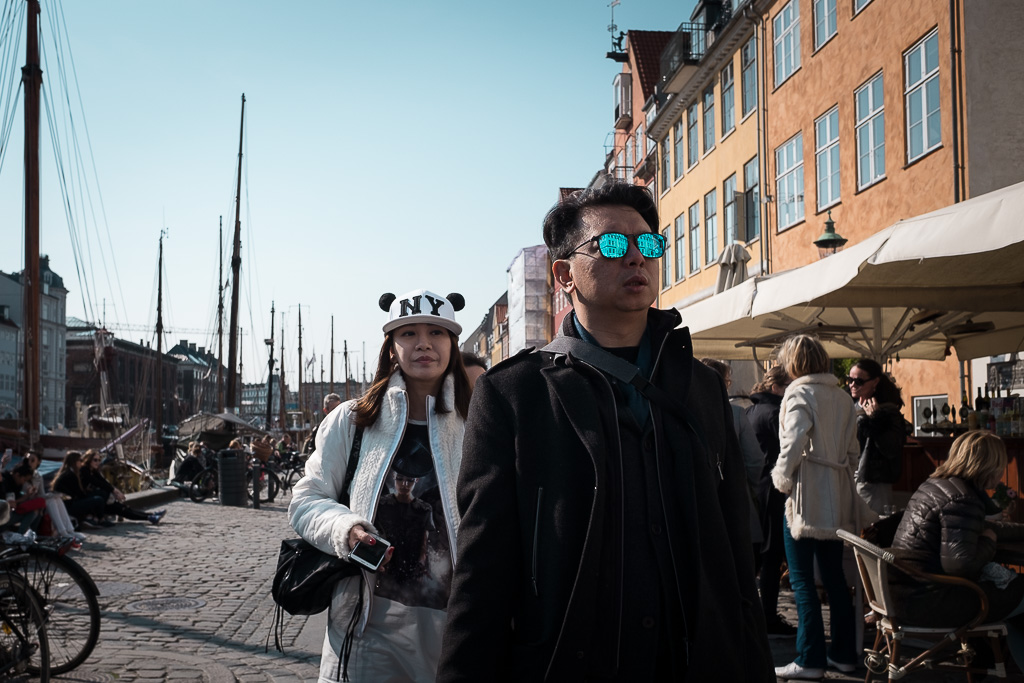Copenhagen Asian Tourist