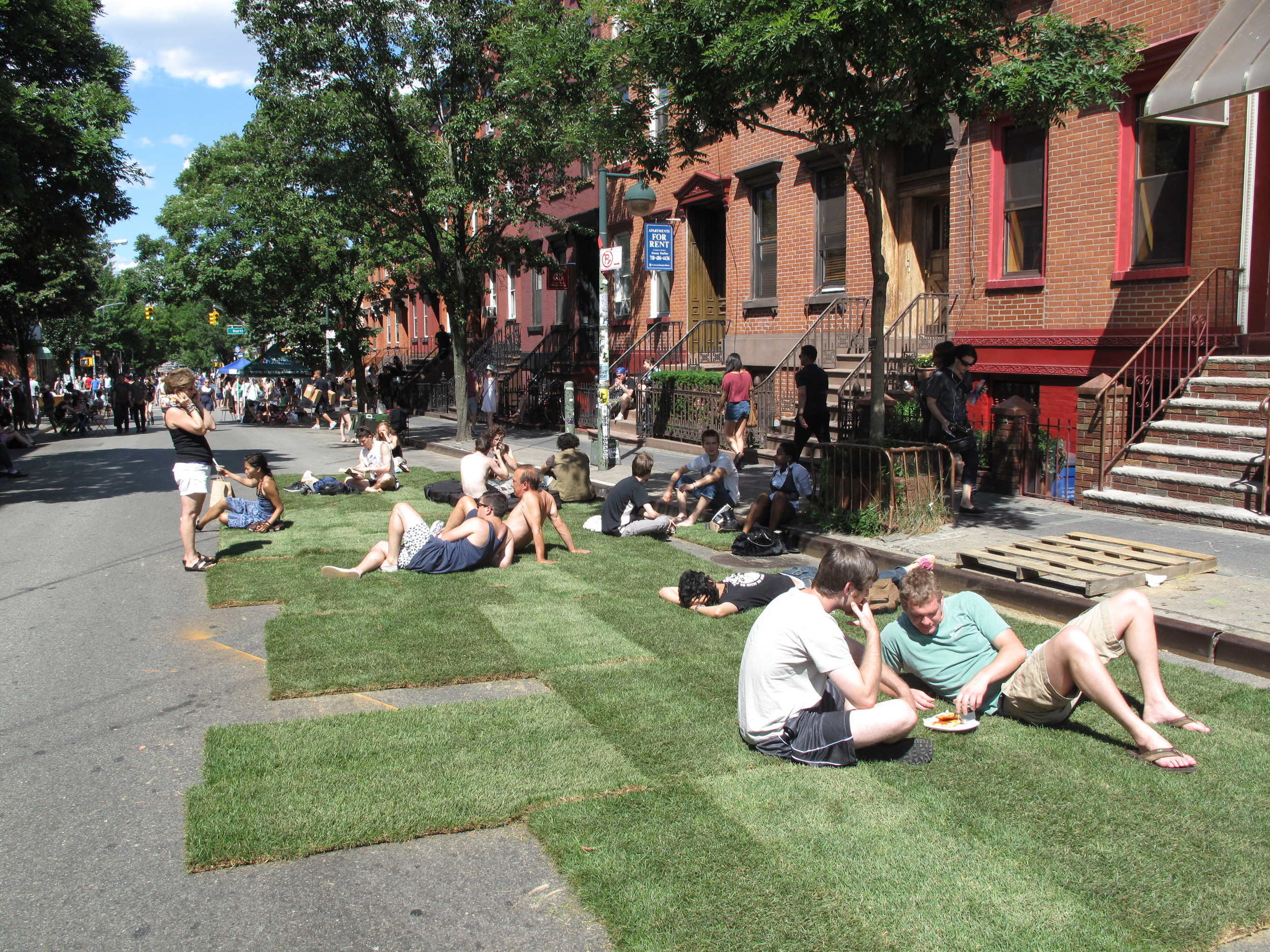 An afternoon in Williamsburg