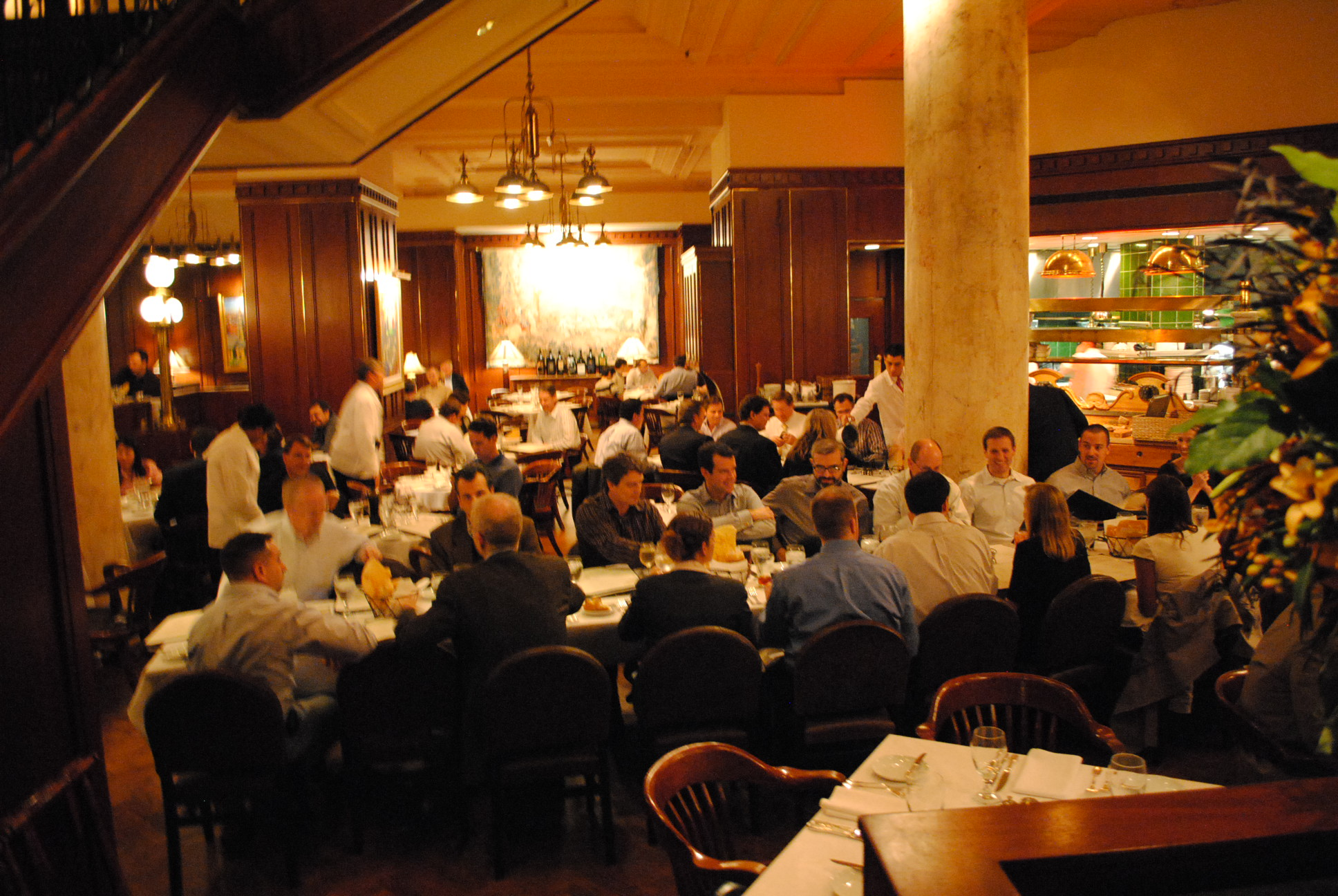 Post-meeting group dinner in Boston