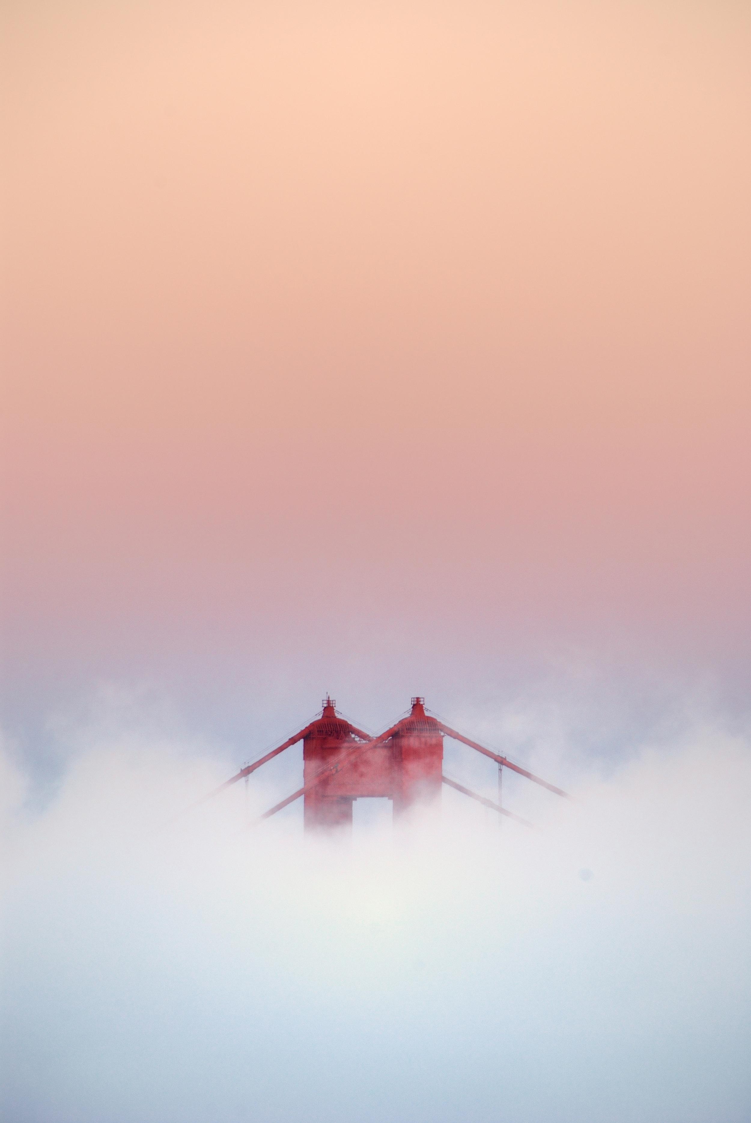 Golden Gate Bridge - Tower and Fog.jpg
