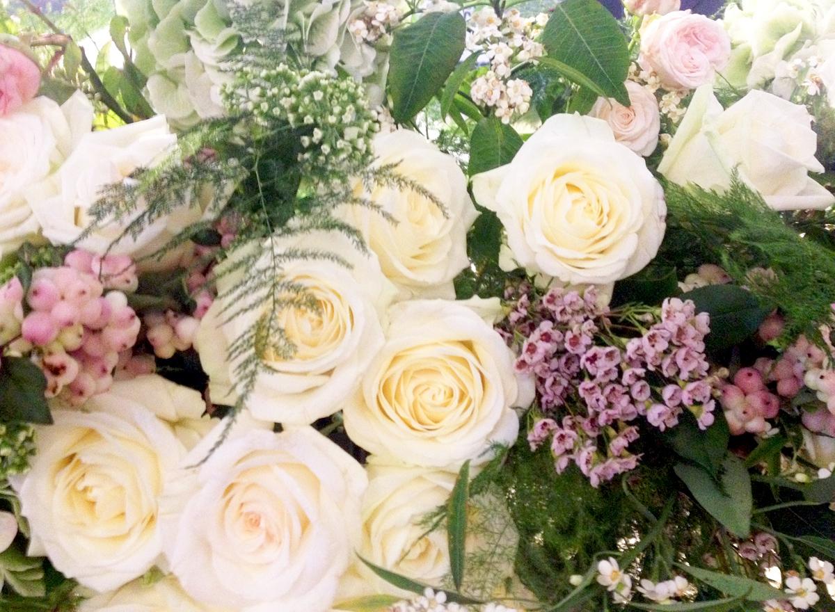 Beautiful blooms from the ladies at  Grandirosa